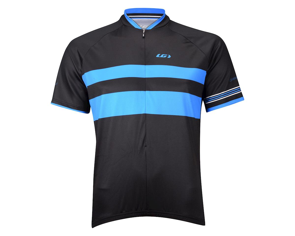 Image 3 for Louis Garneau Limited Short Sleeve Jersey (Black/Blue) (Xxlarge)
