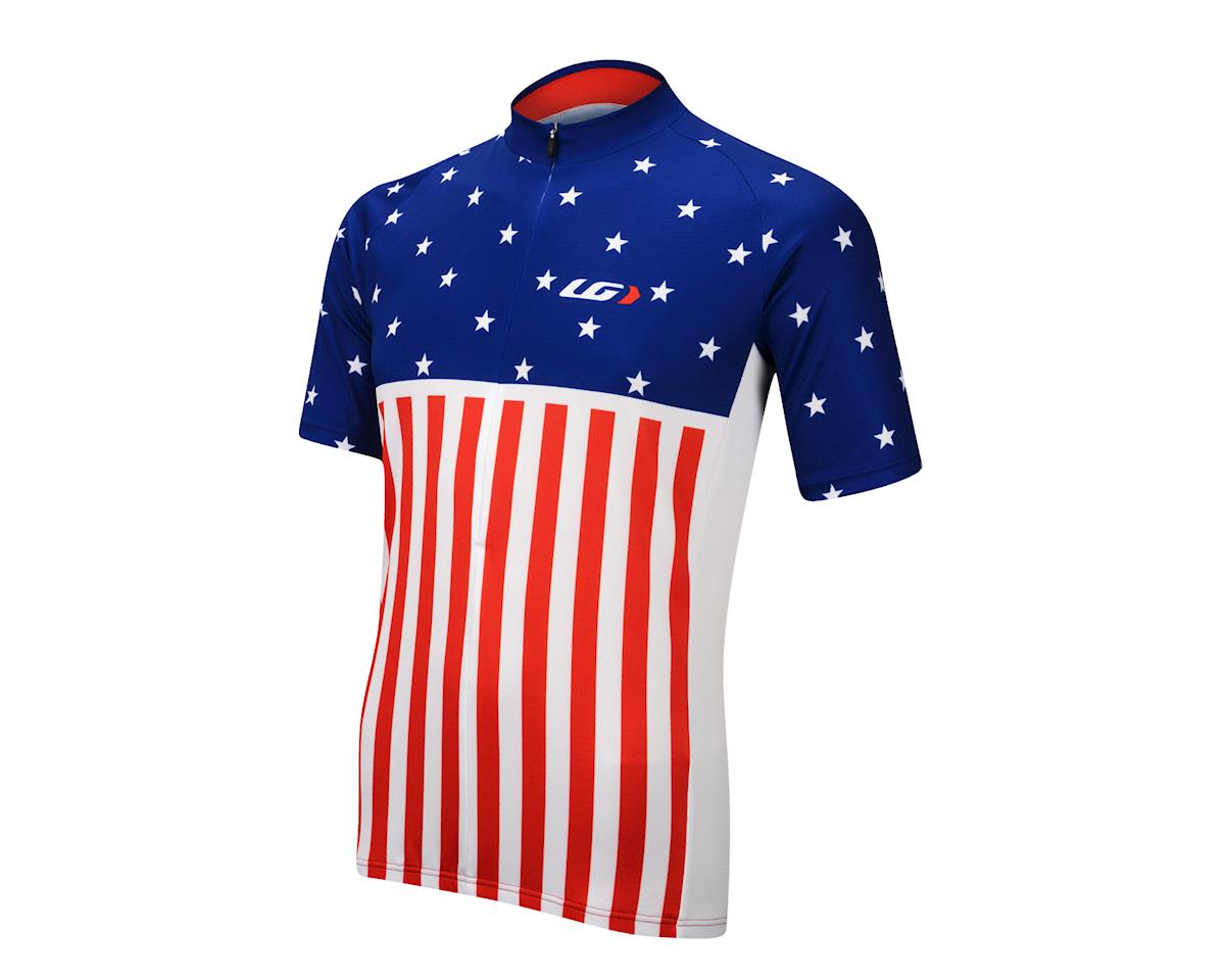 Image 1 for Louis Garneau Patriot Jersey (Red White Blue)