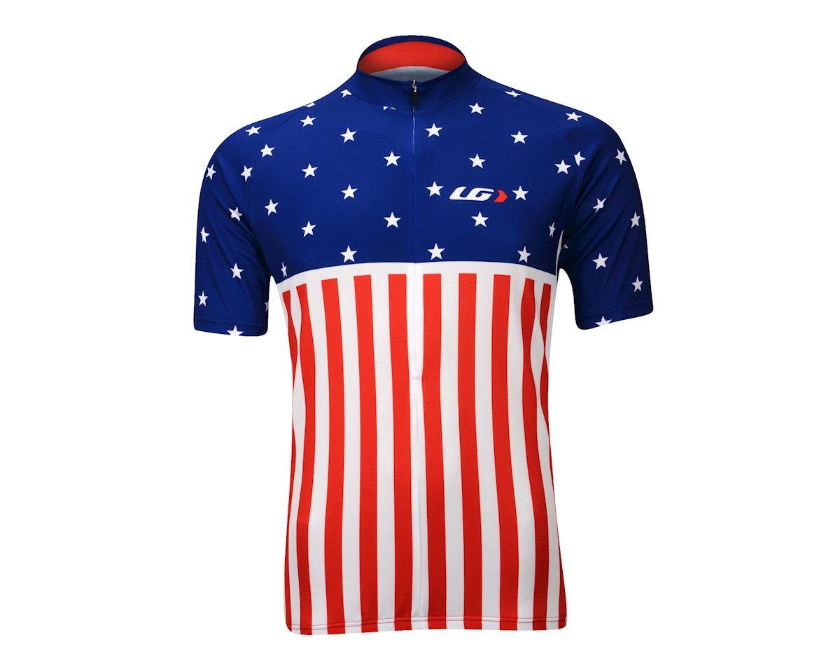 Image 2 for Louis Garneau Patriot Jersey (Red White Blue)