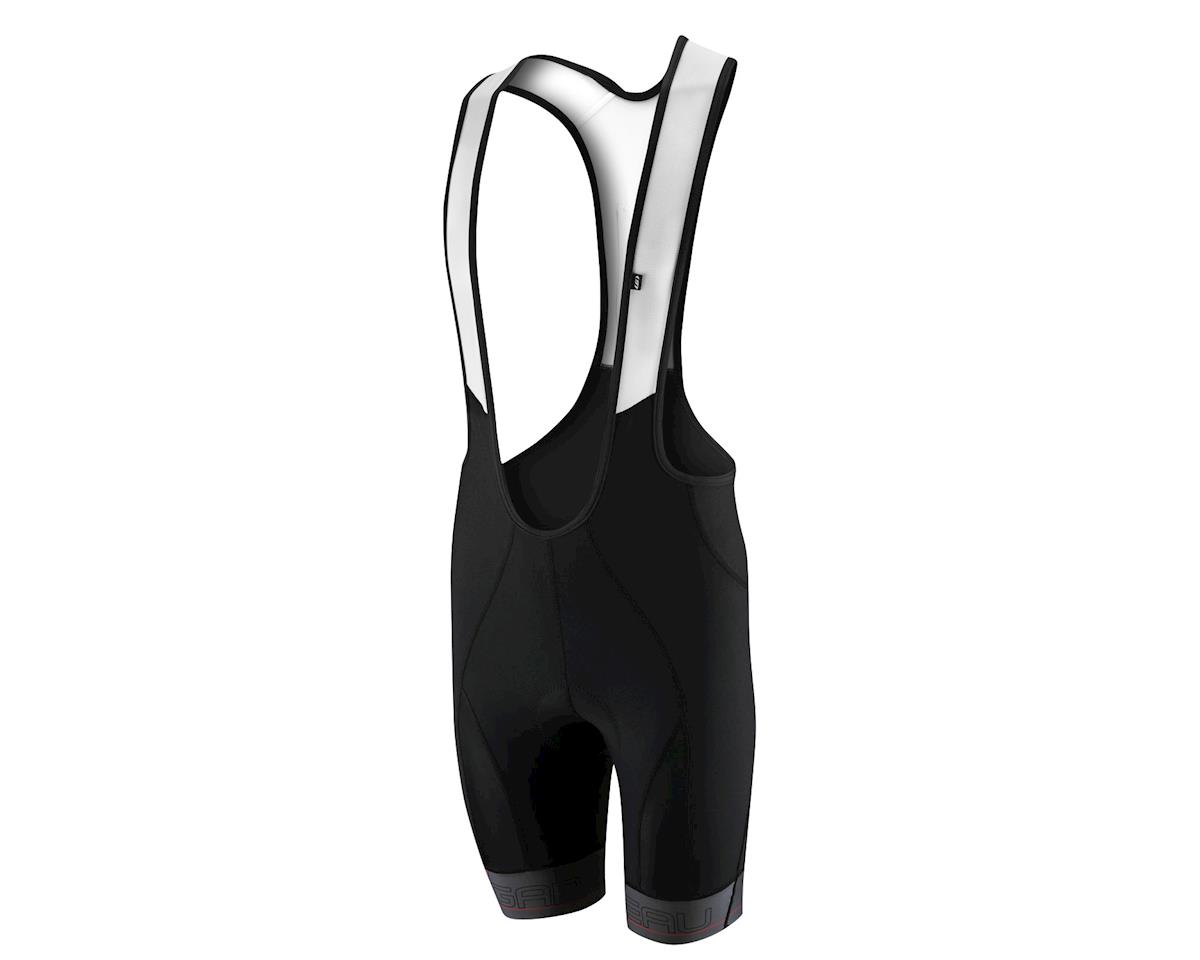 Louis Garneau Pro Power 3 Bib Shorts - Performance Exclusive (Black/Grey) (Small)