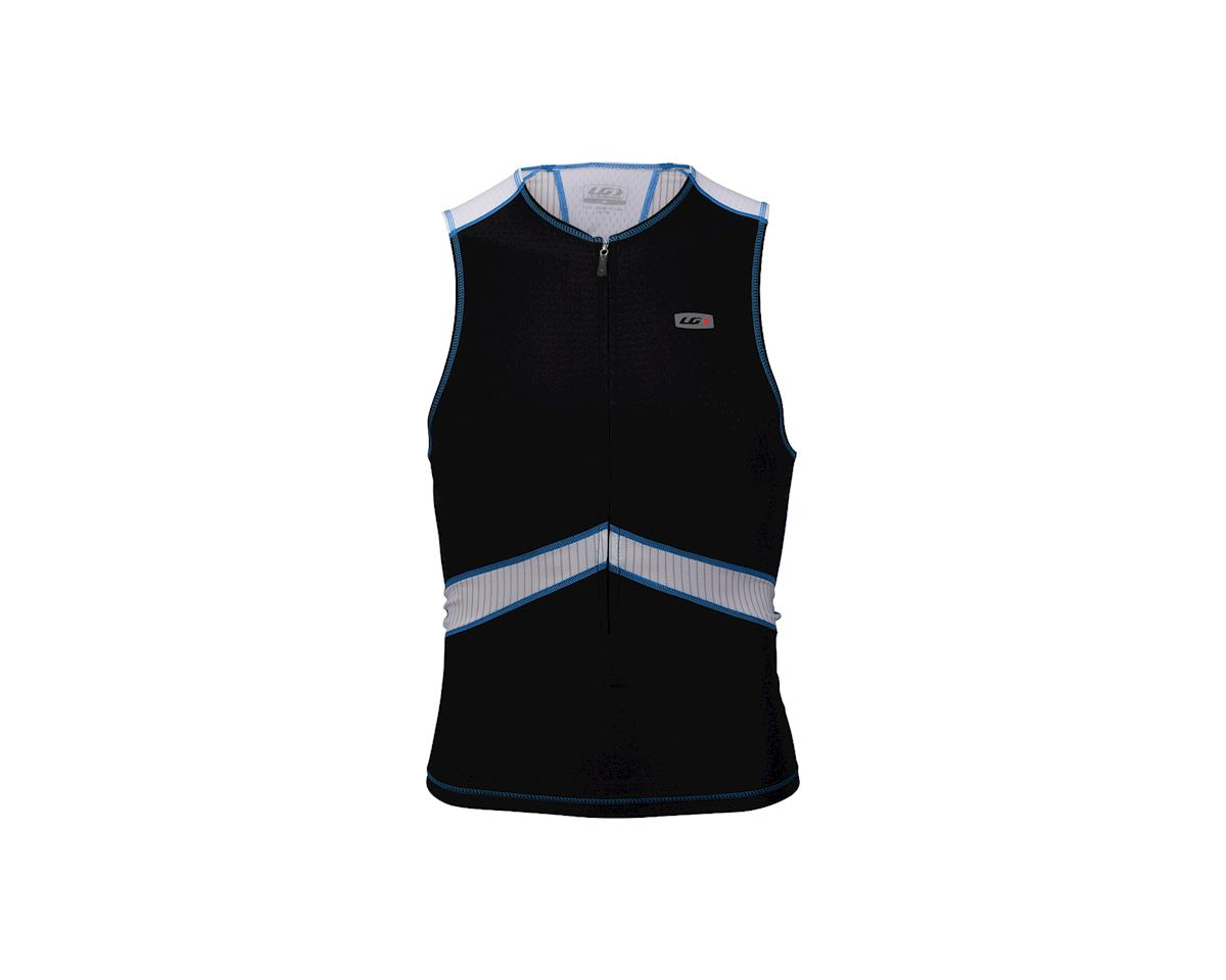 Louis Garneau Pro Tri Tank (Blue/Black) (Medium)