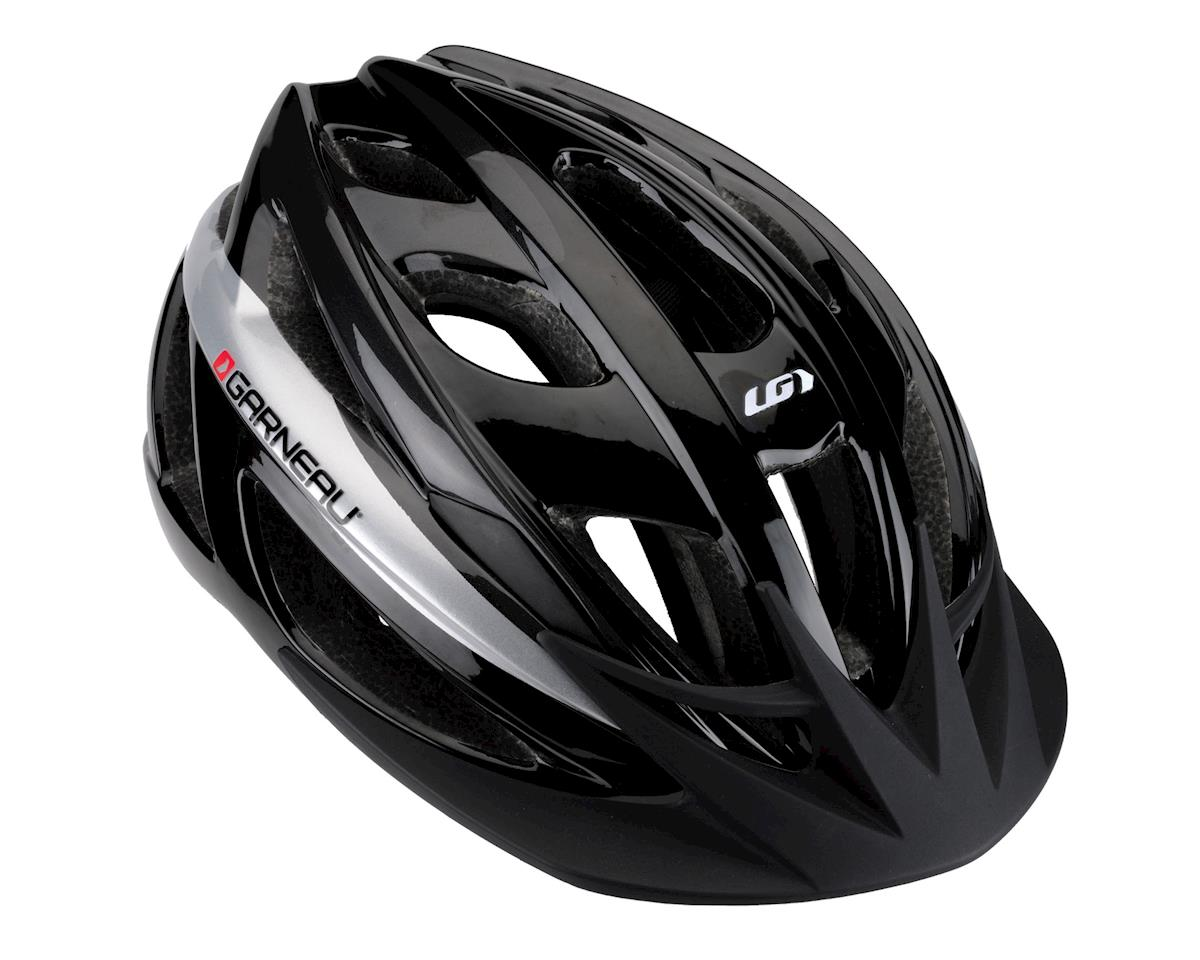 Louis Garneau Route Helmet (Black/Grey) (One Size)