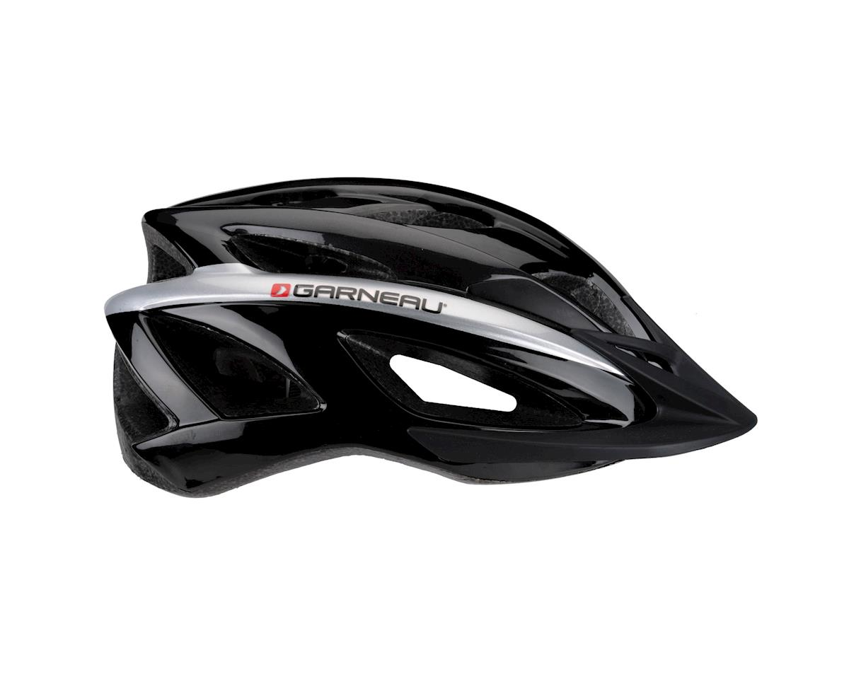 Image 2 for Louis Garneau Route Helmet (Black/Grey) (One Size)