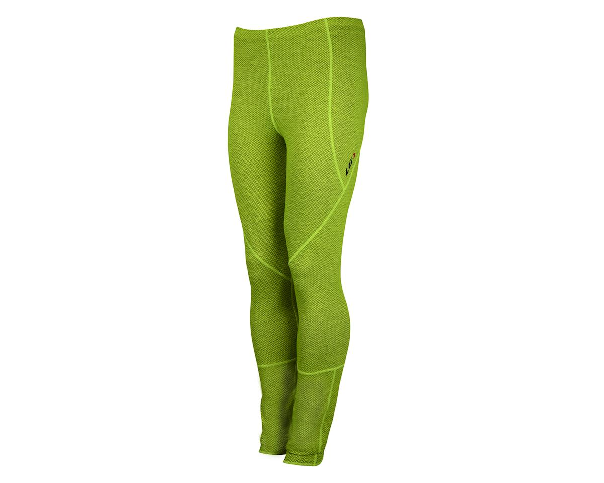 Image 1 for Louis Garneau Stockholm Tights (Hivis Yellow/Charcoal) (Xx-Large 40)
