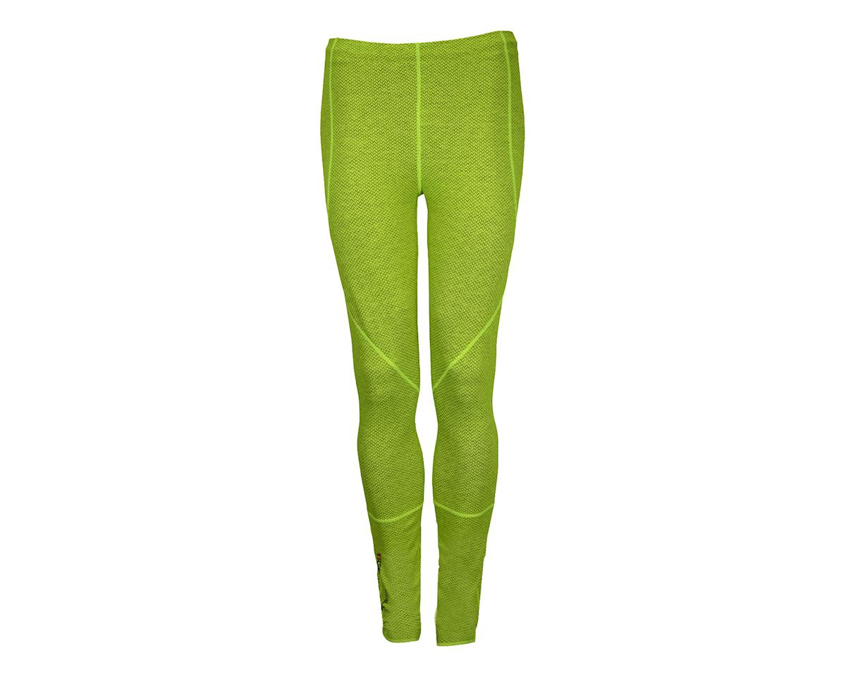 Image 2 for Louis Garneau Stockholm Tights (Hivis Yellow/Charcoal) (Xx-Large 40)