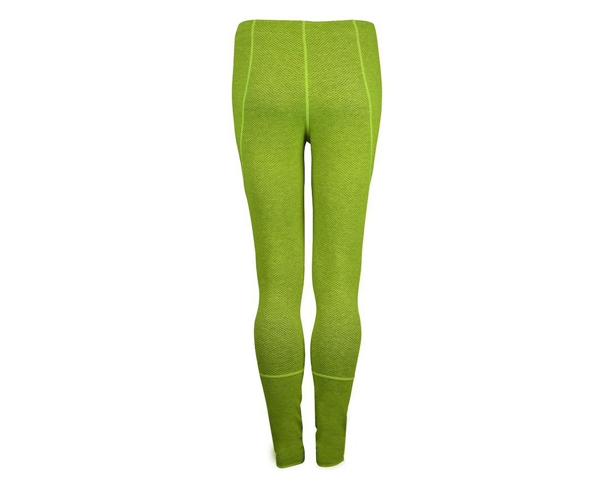 Image 3 for Louis Garneau Stockholm Tights (Hivis Yellow/Charcoal) (Xx-Large 40)