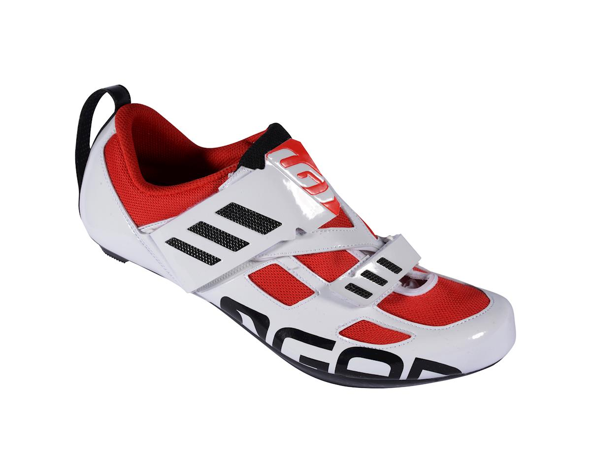 Louis Garneau Tri Evo Triathlon Shoes - Performance Exclusive (Black/Red/White)