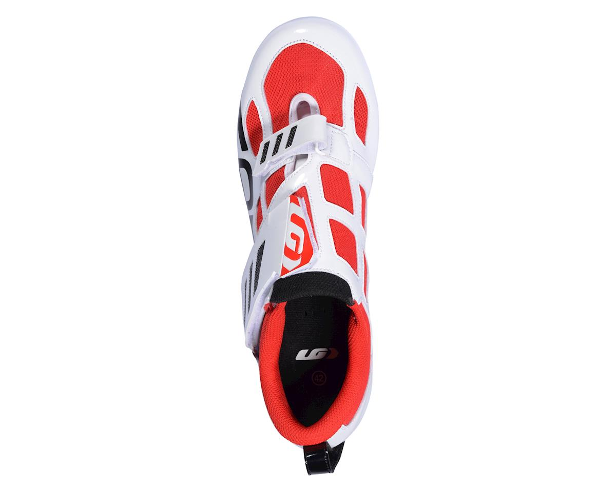 Image 3 for Louis Garneau Tri Evo Triathlon Shoes - Performance Exclusive (Black/Red/White)