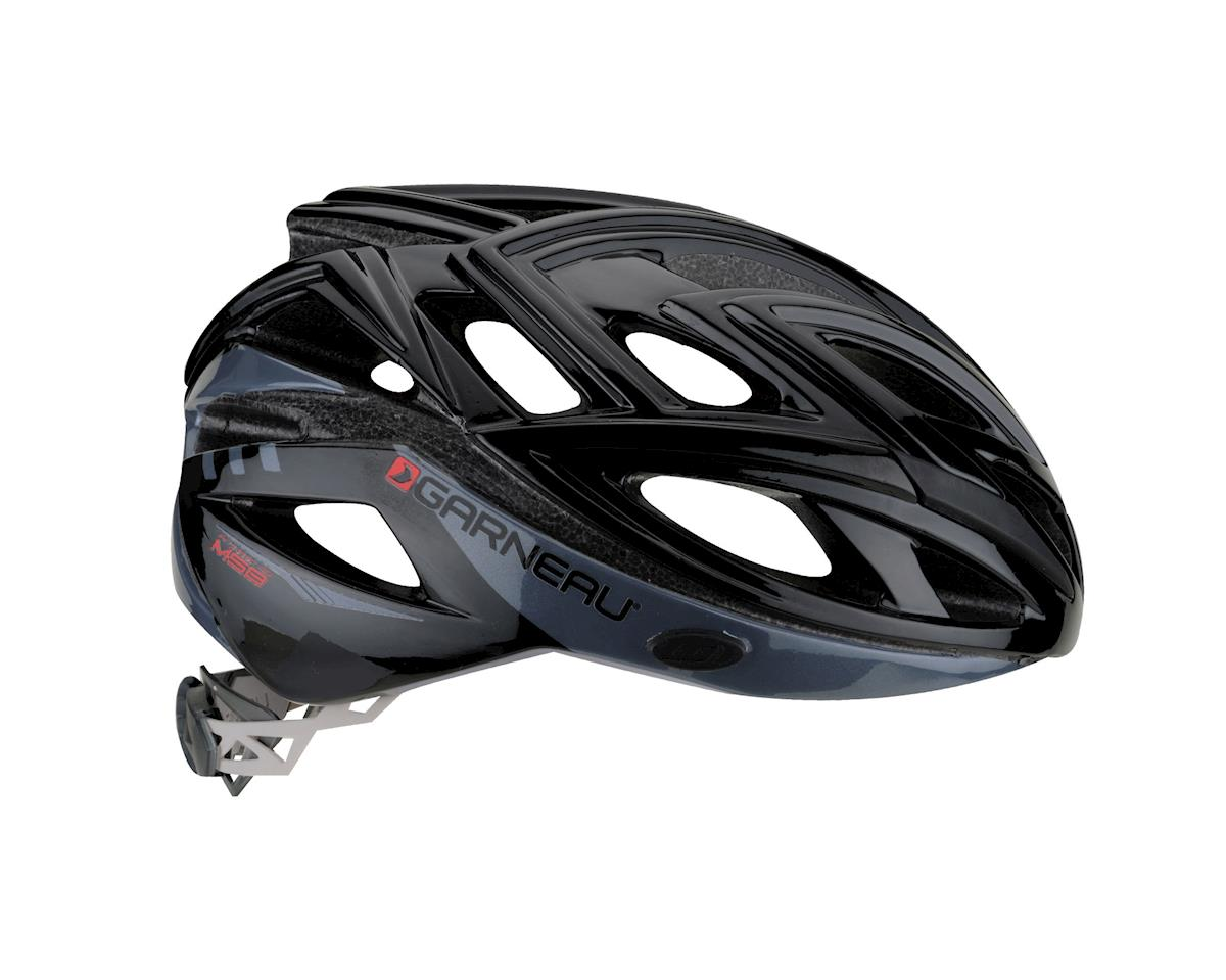 "Image 2 for Louis Garneau Vuelta Road Helmet (Black/Charcoal) (Large 23.25-24.5"")"