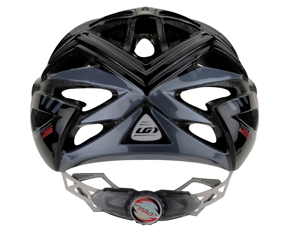 "Image 3 for Louis Garneau Vuelta Road Helmet (Black/Charcoal) (Large 23.25-24.5"")"