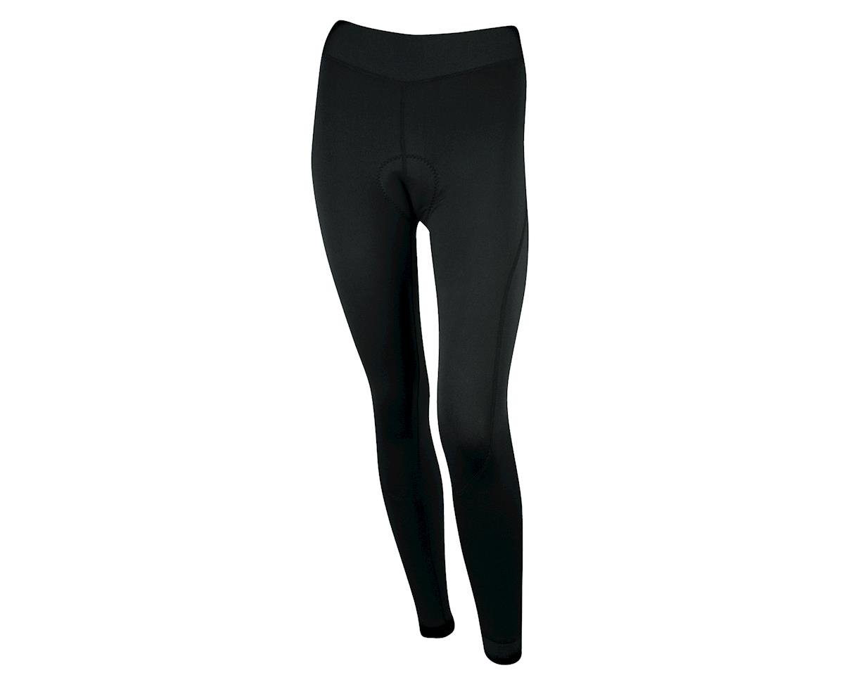 Image 1 for Louis Garneau Women's Thermal Chamois Tights (Black)