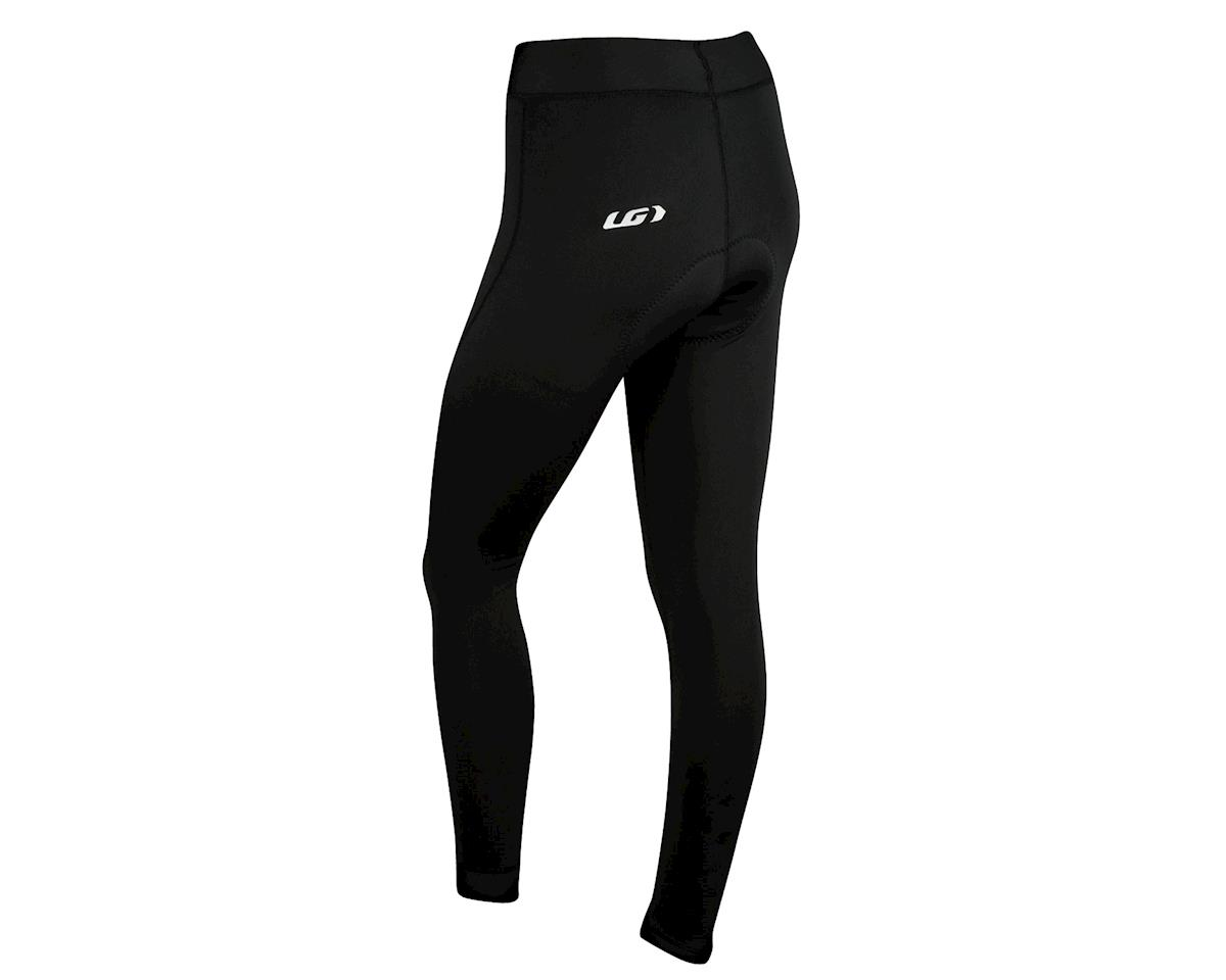 Image 2 for Louis Garneau Women's Thermal Chamois Tights (Black)