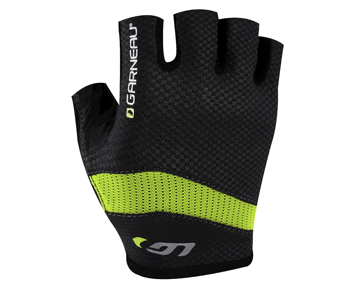 Image 1 for Louis Garneau Stratus Gel Gloves - Performance Exclusive (Matte Black/High Vis) (Xlarge)
