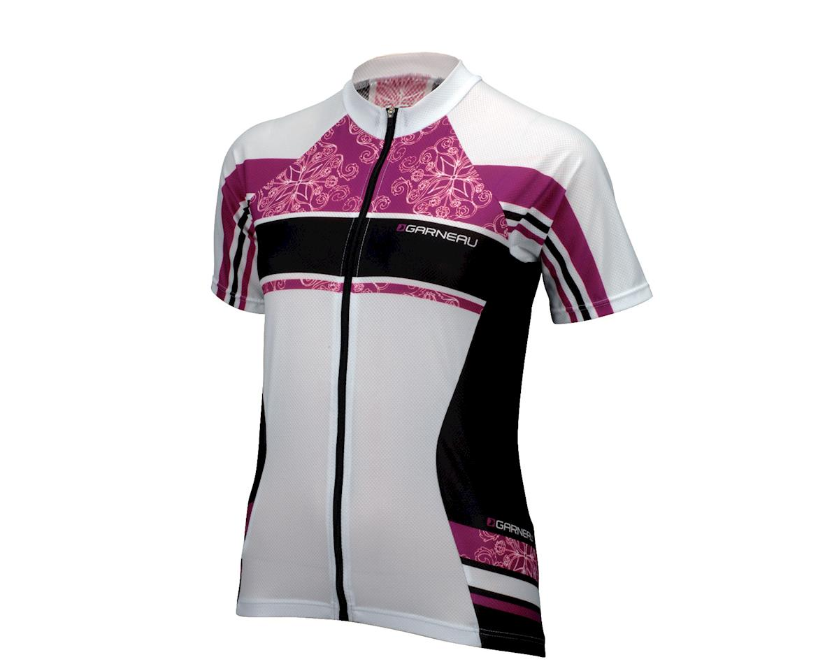 Image 1 for Louis Garneau Women's Factory Short Sleeve Jersey (White) (Xxlarge)
