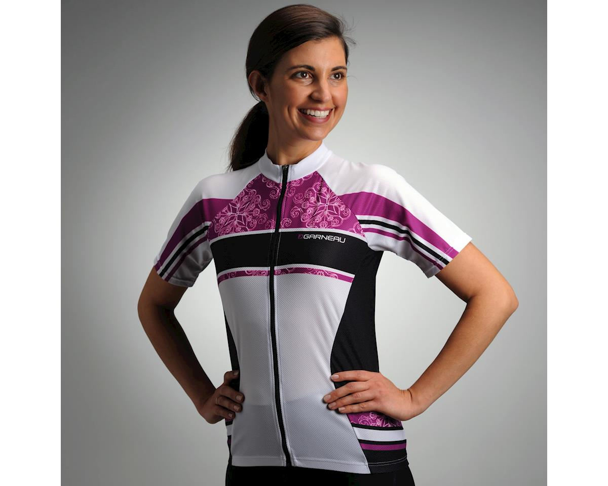 Image 3 for Louis Garneau Women's Factory Short Sleeve Jersey (White) (Xxlarge)
