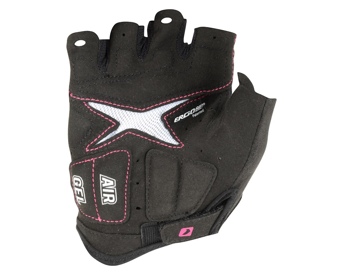 Louis Garneau Women's Stratus Gel Gloves - Performance Exclusive (Black/Pink) (Large)