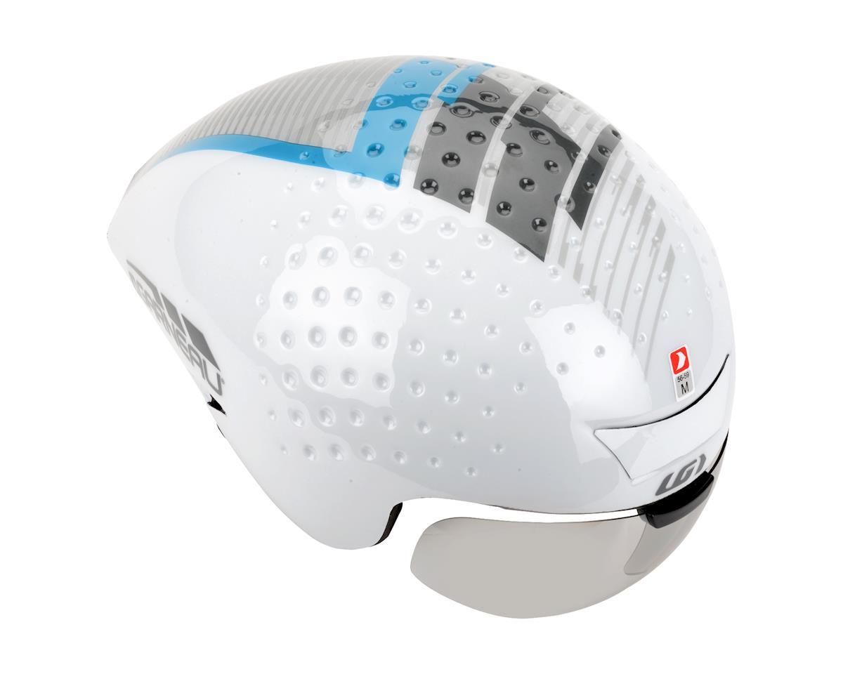 Louis Garneau P-09 Helmet (White/Silver)