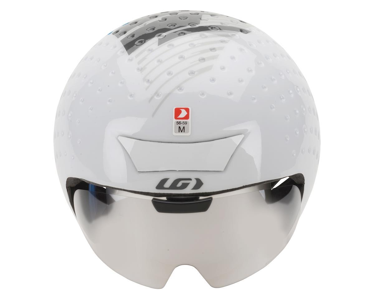 Image 4 for Louis Garneau P-09 Helmet (White/Silver)