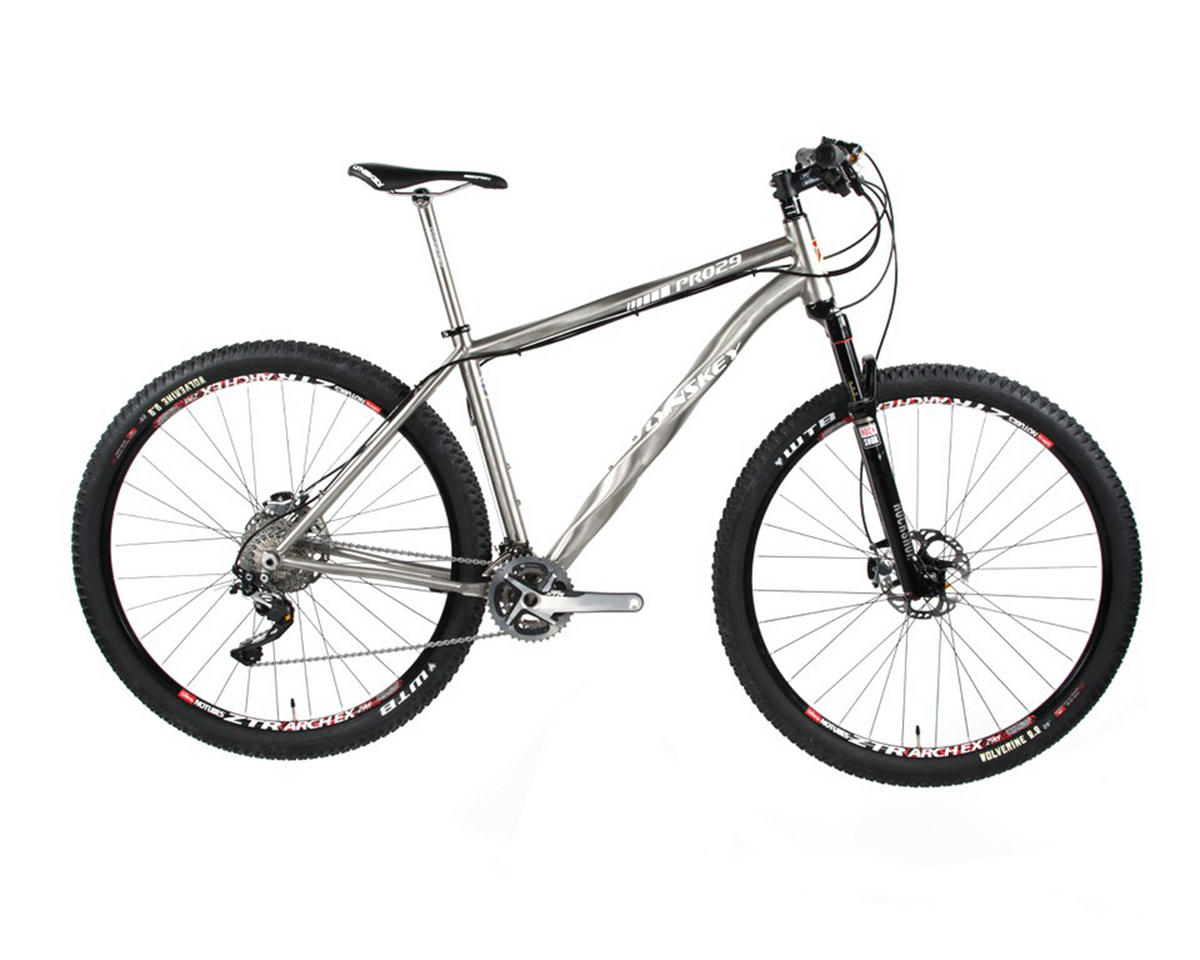 Lynskey PRO29 Titanium Hardtail Mountain Bike (2014) (Industrial Mill/Black)