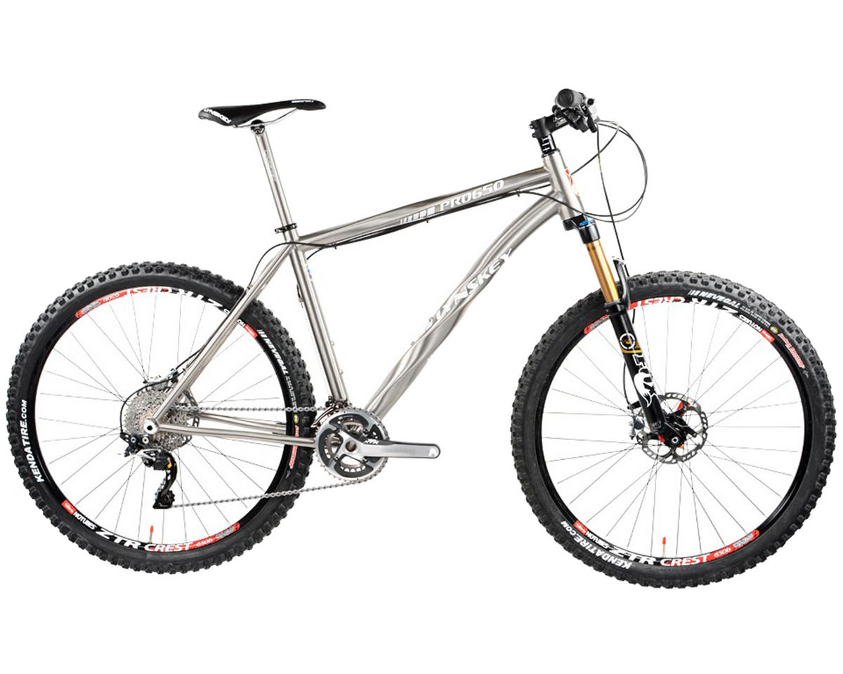 Lynskey PRO 650 Titanium Hardtail Mountain Bike (2014) (Industrial Mill)