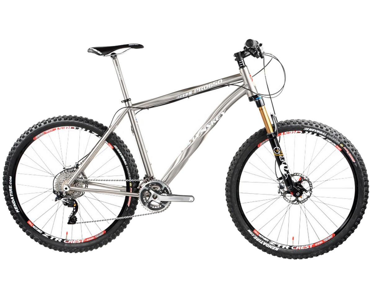 Lynskey PRO 650 Titanium Hardtail Mountain Bike (2014) (Industrial Mill)