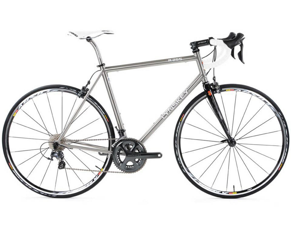 Lynskey R255 Ultegra Titanium Road Bike (2014) (Industrial Mill/Black)