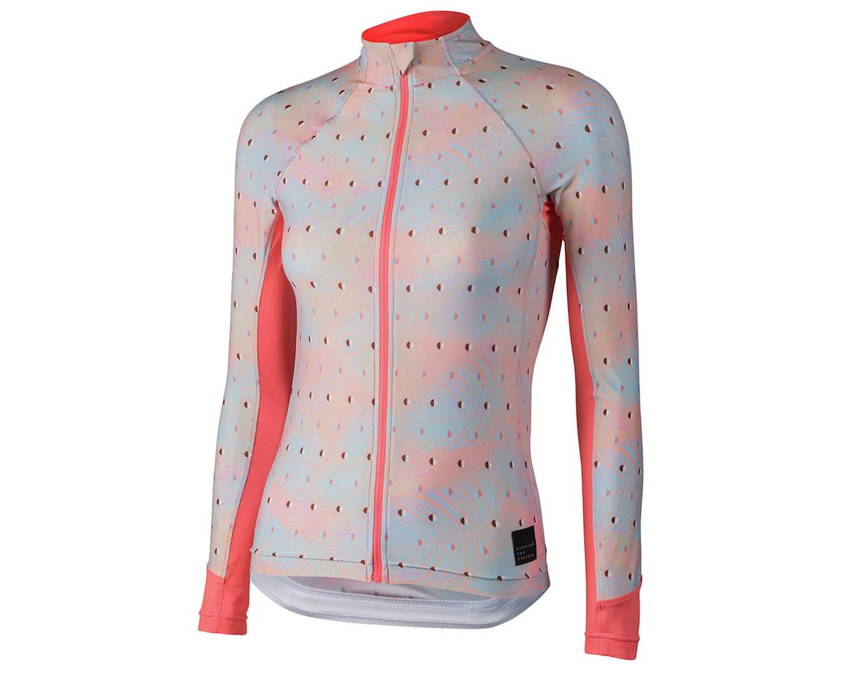 Machines For Freedom SummerWeight Long Sleeve Jersey (Blush Palm)
