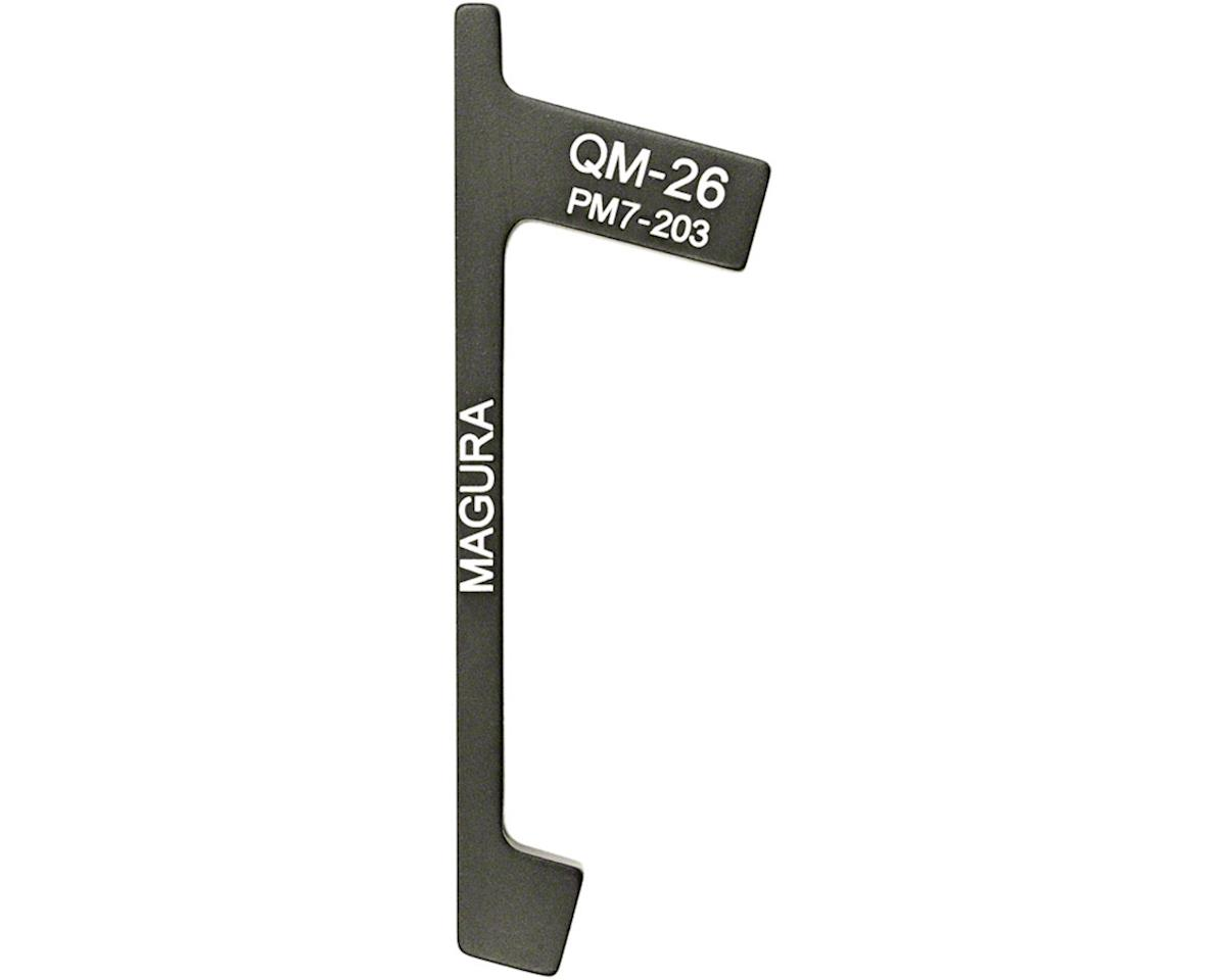 "Magura QM26 Adaptor for 203mm Rotor on 7"" (180mm) Post Mounts"