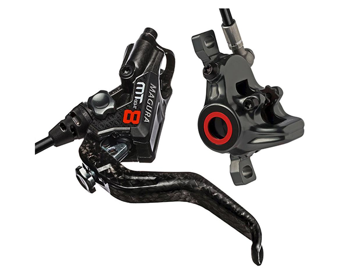 Magura MT8 Next Disc Brake and Lever Front or Rear with 2000mm Hose, Red/Carbon
