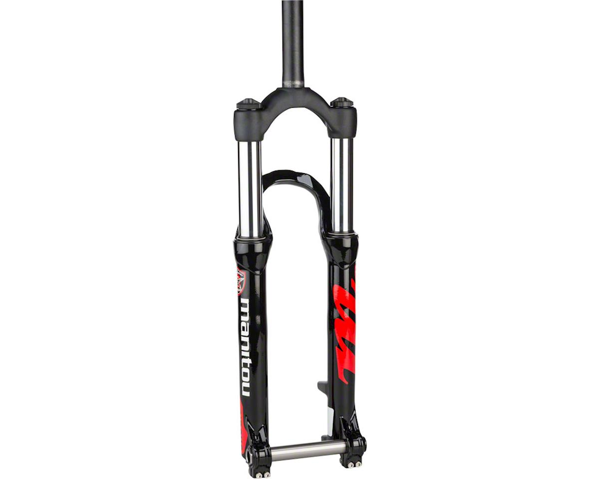 "Manitou Circus Comp Dirt Jump Fork 26"" 100mm Straight Steerer 20mm Hexlock, Blac"