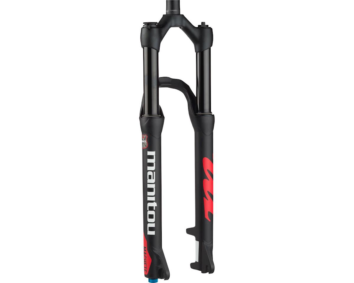 "Manitou Machete Comp Fork 29"" 120mm Travel, 9mm Axle, Matte Black"