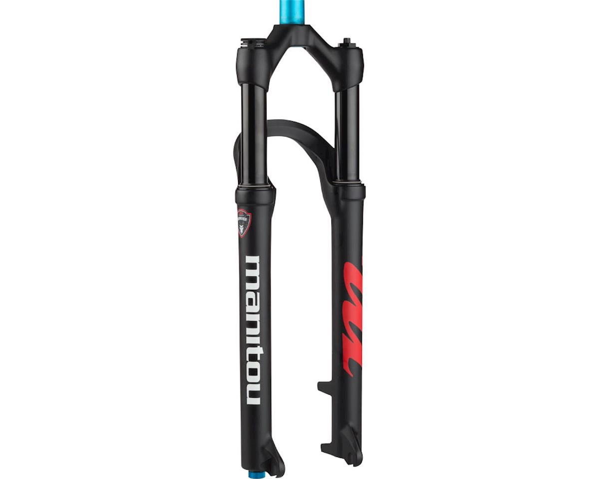 "Manitou Markhor Fork 29"" 100mm Travel, 9mm Axle, Matte Black"