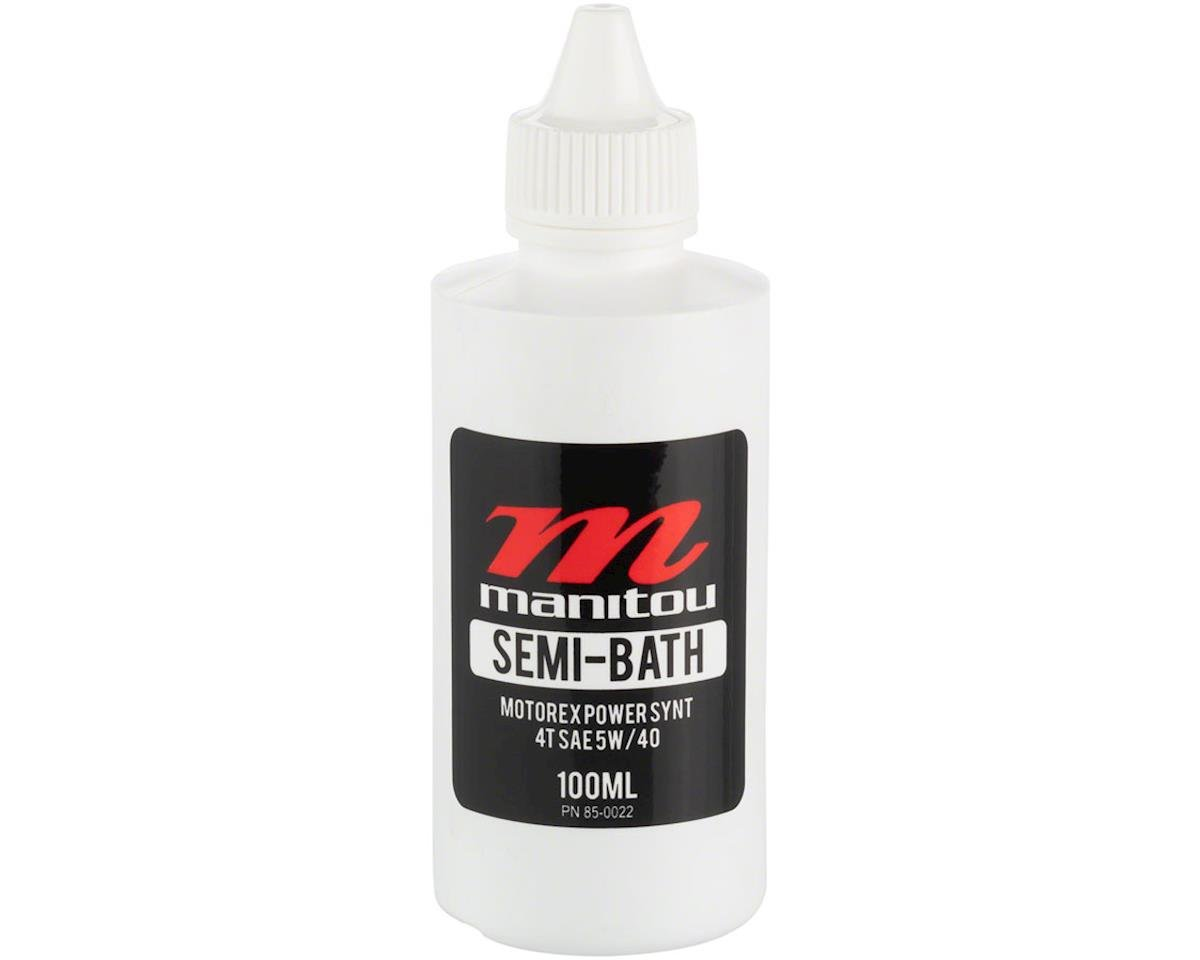 Manitou Maxima Semi-Bath fork oil, 5w40wt - 100ml | relatedproducts