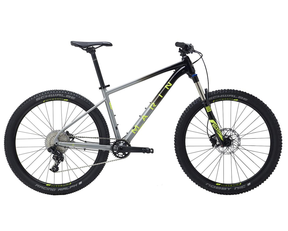 Trail Mountain Bikes >> Marin Nail Trail 6 Hardtail Mountain Bike Gloss Black Charcoal Fade M 27 5 725609002 Bikes Frames