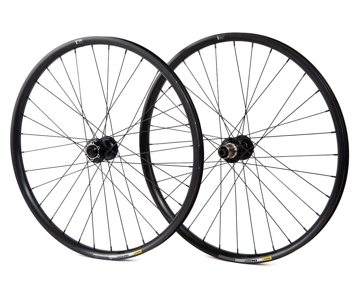 Mavic En427 27.5 650b MTB Wheelset 6 Bolt Disc Black Tubeless Compatible Boost