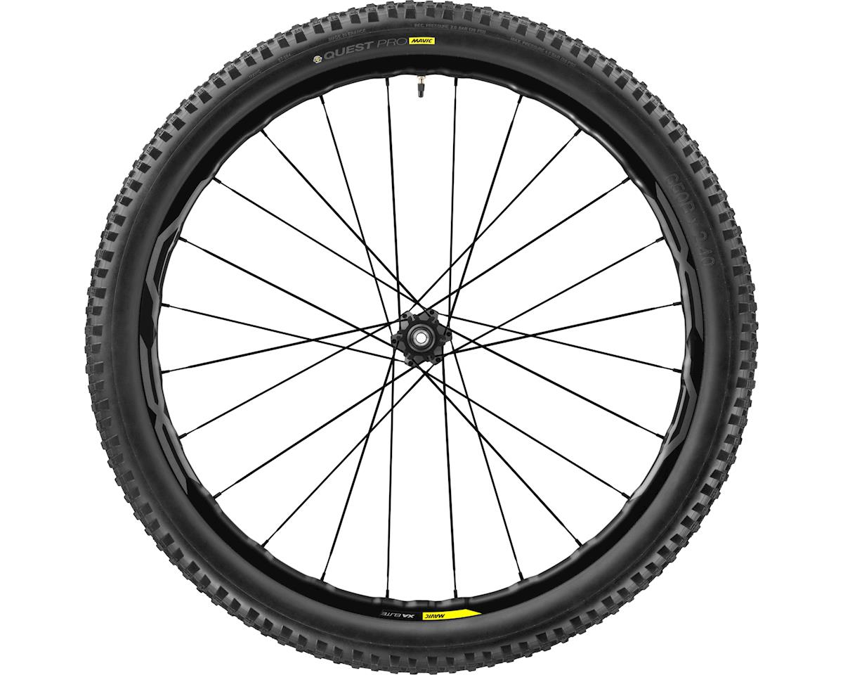Mavic, XA Elite WTS, Wheel, Rear, 27.5'', 24 spokes, QR/12mm TA, Tire included