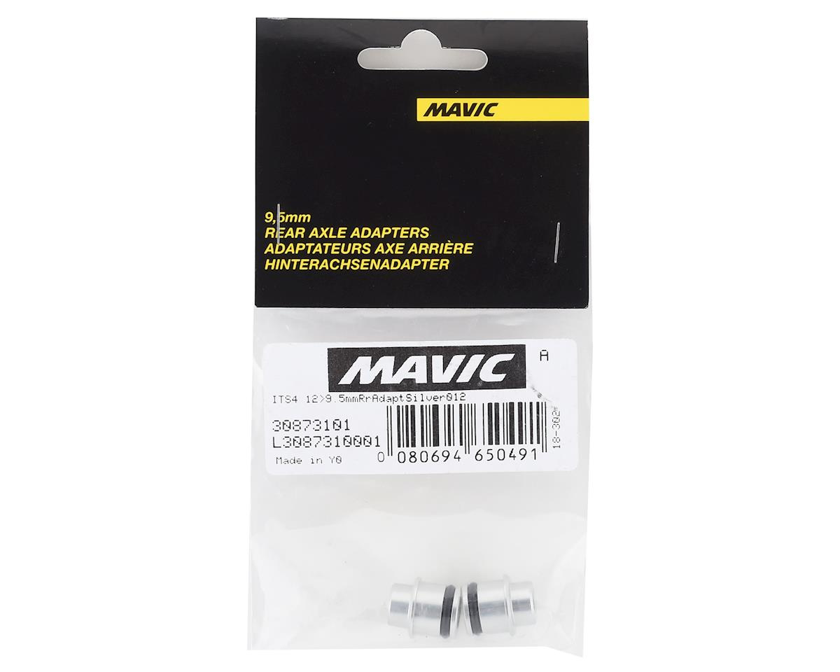 Mavic Rear 12mm Thru Axle To Quick Release Adapters (Silver)