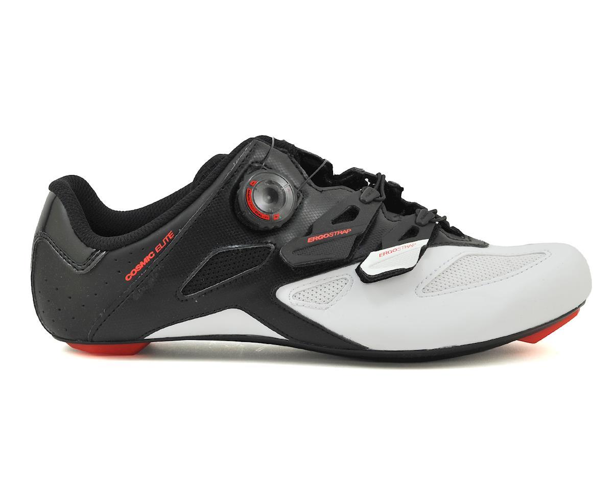 Mavic Cosmic Elite Road Shoes (Black/White/Fiery Red) (8.5)