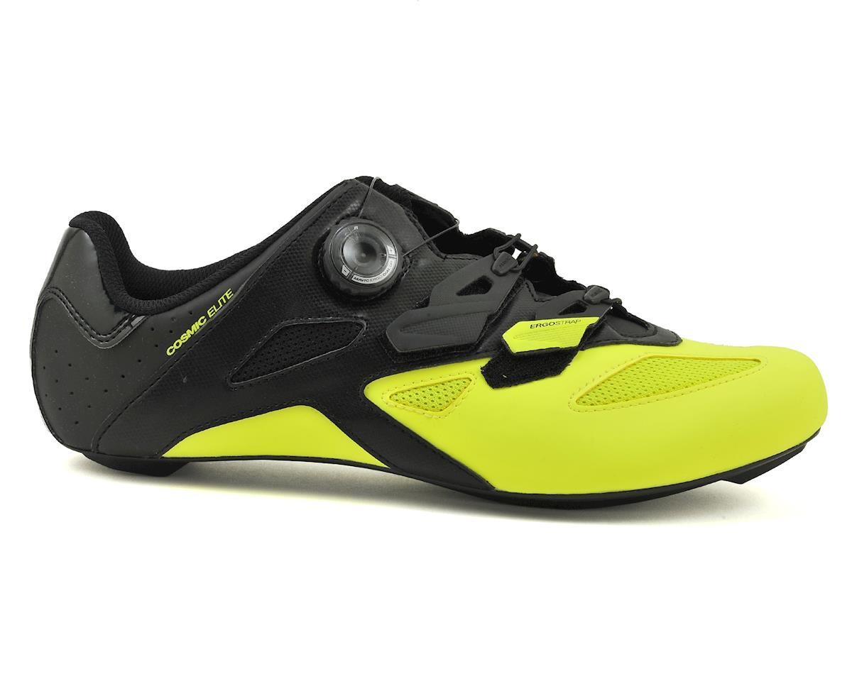 SCRATCH & DENT: Mavic Cosmic Elite Road Shoes (Black/Yellow) (9)