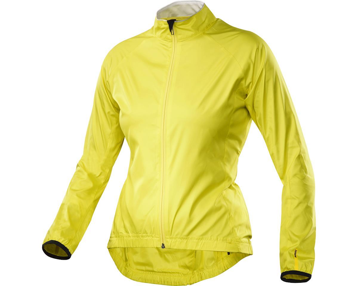 Image 2 for Mavic Aksium Women's Jacket (Yellow) (Extra Large (Us Large))