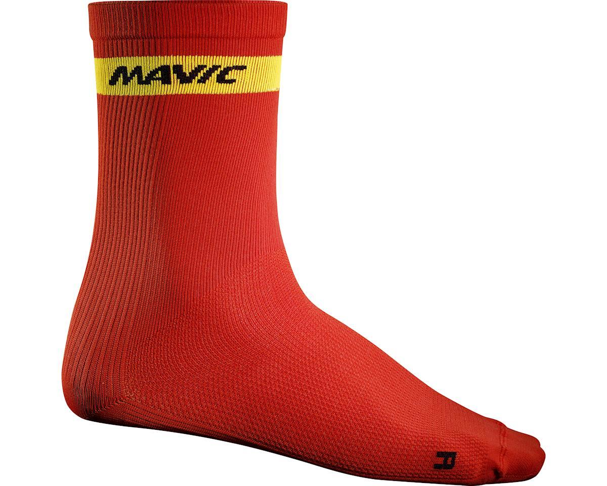 Mavic Cosmic High Socks (Racing Red)