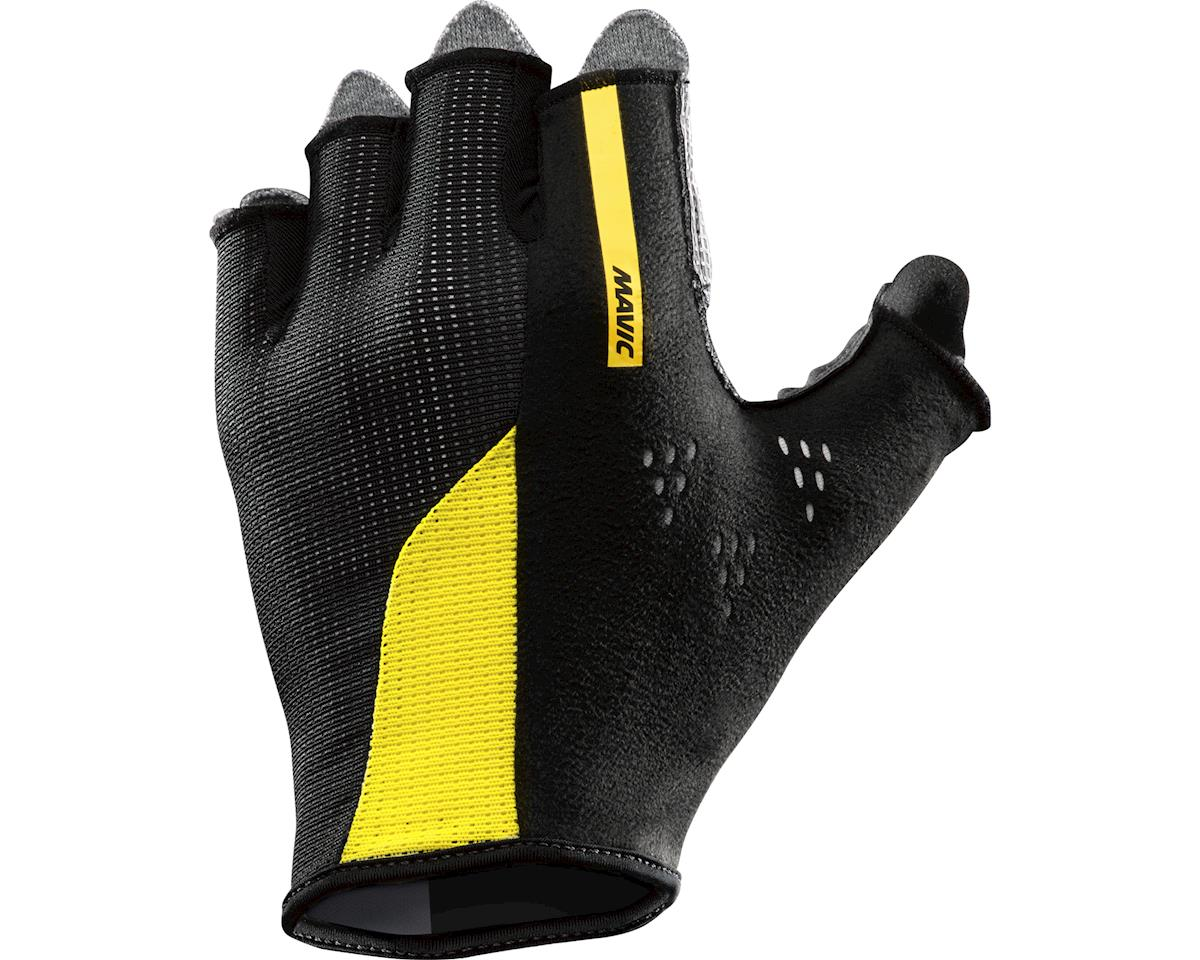 Mavic Cosmic Pro Gloves (Black/Yelomavic)
