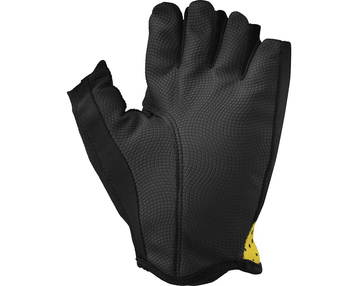 Image 2 for Mavic Cosmic Gloves (Black/Mavic Yellow)
