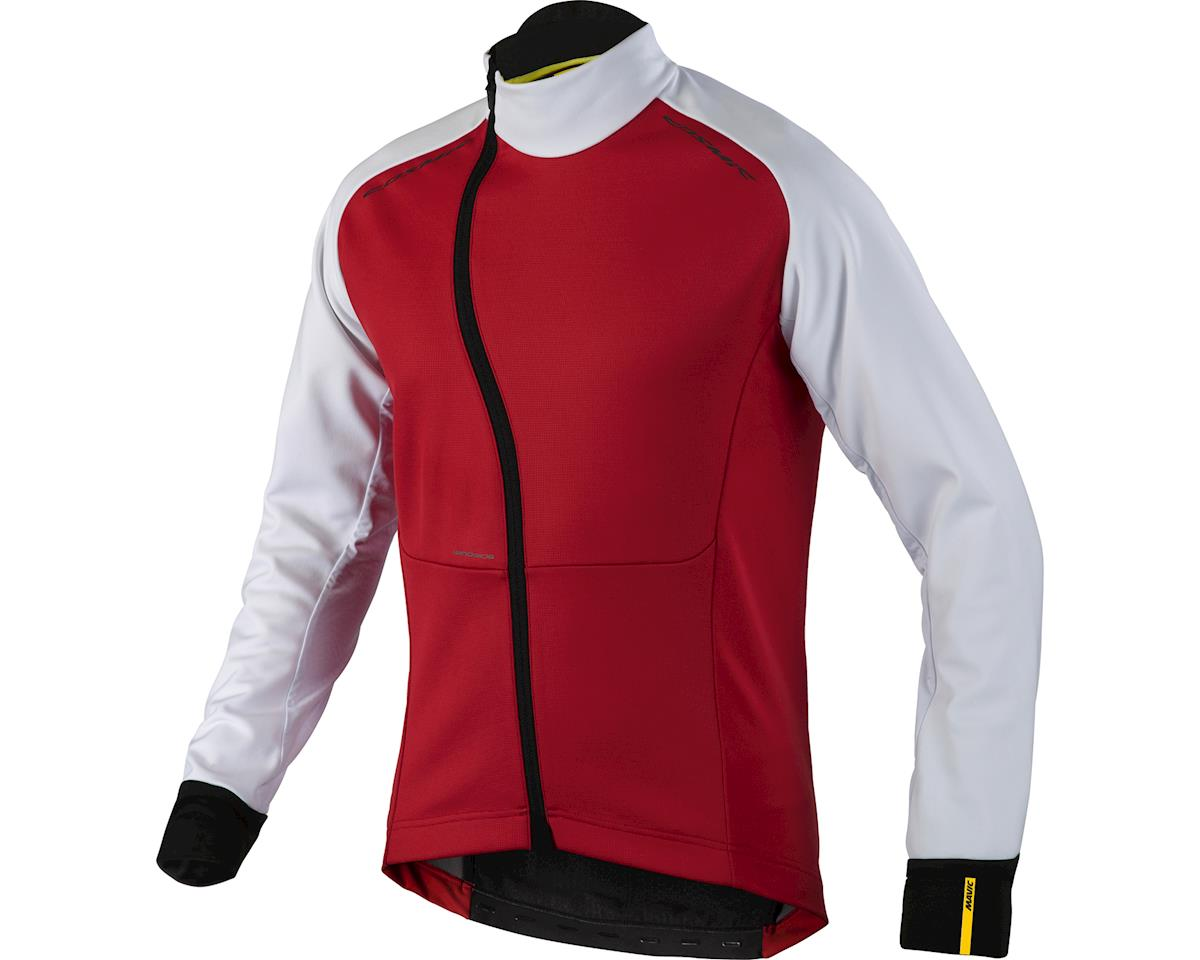 Mavic Cosmic Pro Wind Jacket (Bright Red/White)