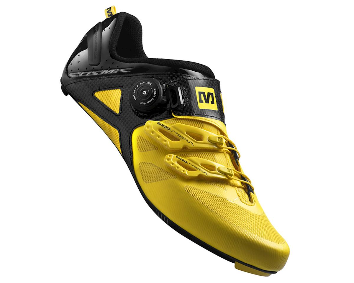Image 1 for Mavic Cosmic Ultimate Road Shoes (Mavic Yellow/Black) (12 Uk (Us 12.5))