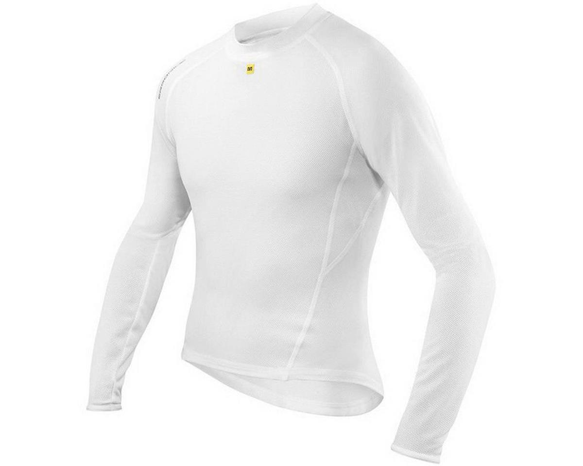 Mavic Echelon Long Sleeve Base Layer (White) (Extra Large)