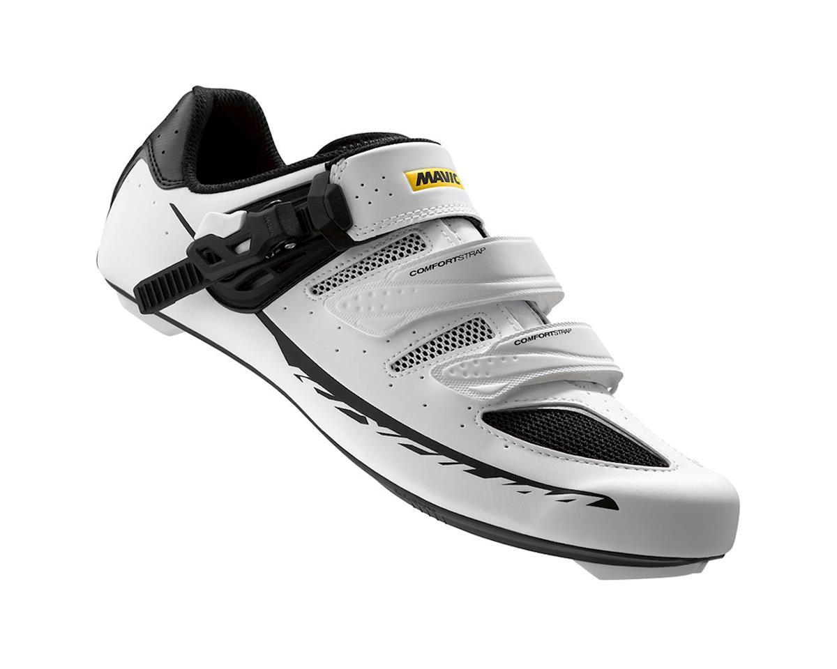 Mavic Ksyrium Elite II Maxi Fit Road Shoes (White/Black) (13.5 Uk (Us 14))