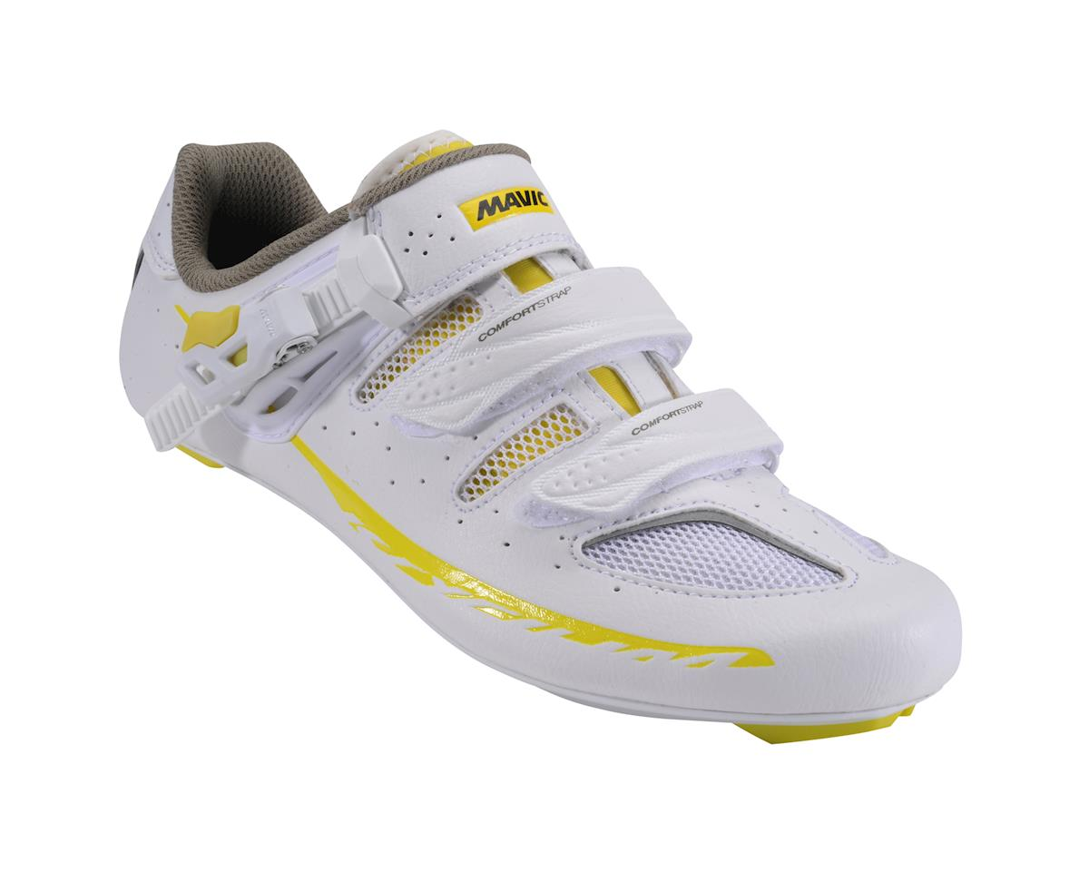 Mavic Women's Ksyrium Elite II Road Shoes (Black/White)