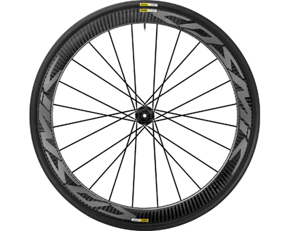 Image 1 for Mavic Cosmic Pro Carbon SL Disc Road Front Wheel + Yksion Pro 700x25 Tire