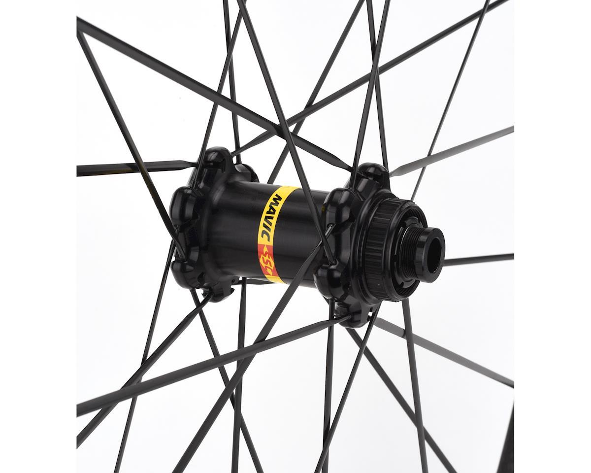 Image 2 for Mavic Cosmic Pro Carbon SL Disc Road Front Wheel + Yksion Pro 700x25 Tire